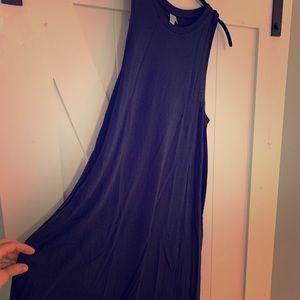 Alternative - Cotton Swing Dress (Navy)